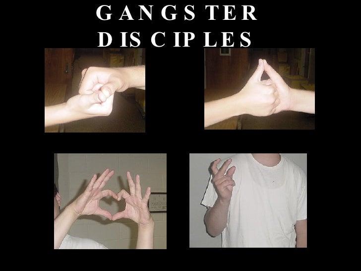 Gangster disciples hand signals