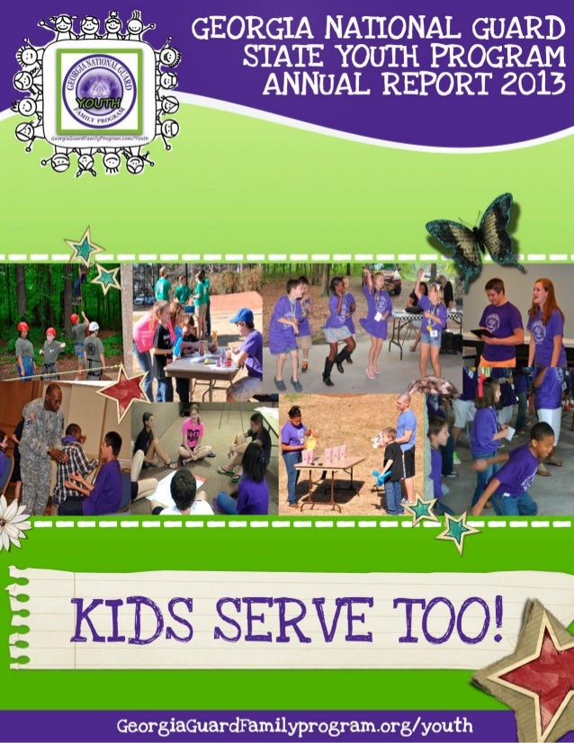 Georgia National Guard State Youth Program Annual Report 2013