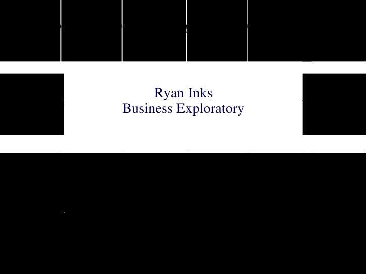 Ryan Inks Business Exploratory