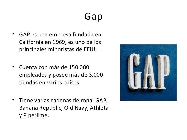 Gap apertura de tiendas en espa a for Gap online espana
