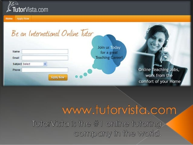  TutorVista, a Bangalore-based company that started U.S. services in 2006, customers pay $100 a month for unlimited hours...