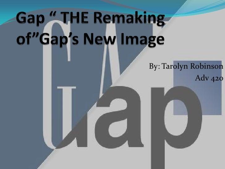 Gap Digital Strategy Powerpoint