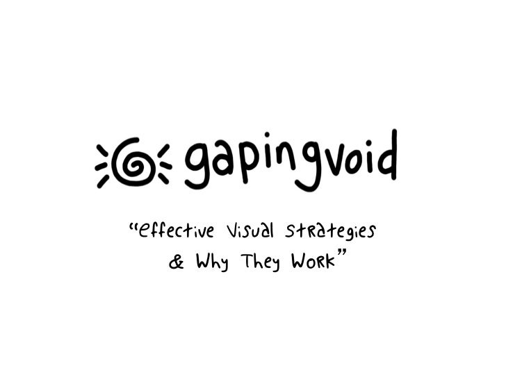 Gapingvoid: Effective Visual Strategies for Business