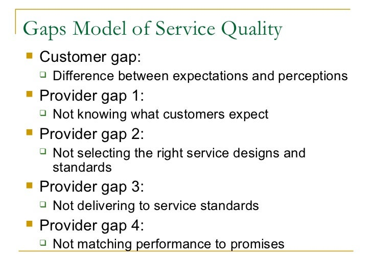 service quality models review literature Proposes a scale for measuring service quality (servqual) the literature identifies dominates current research into service quality in a review of more.