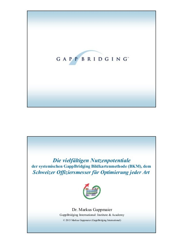 1© 2013 Dr. Markus Gappmaier, BKM-Basisinformation© 2013 Dr. Markus Gappmaier, BKM-BasisinformationDie vielfältigen Nutzen...