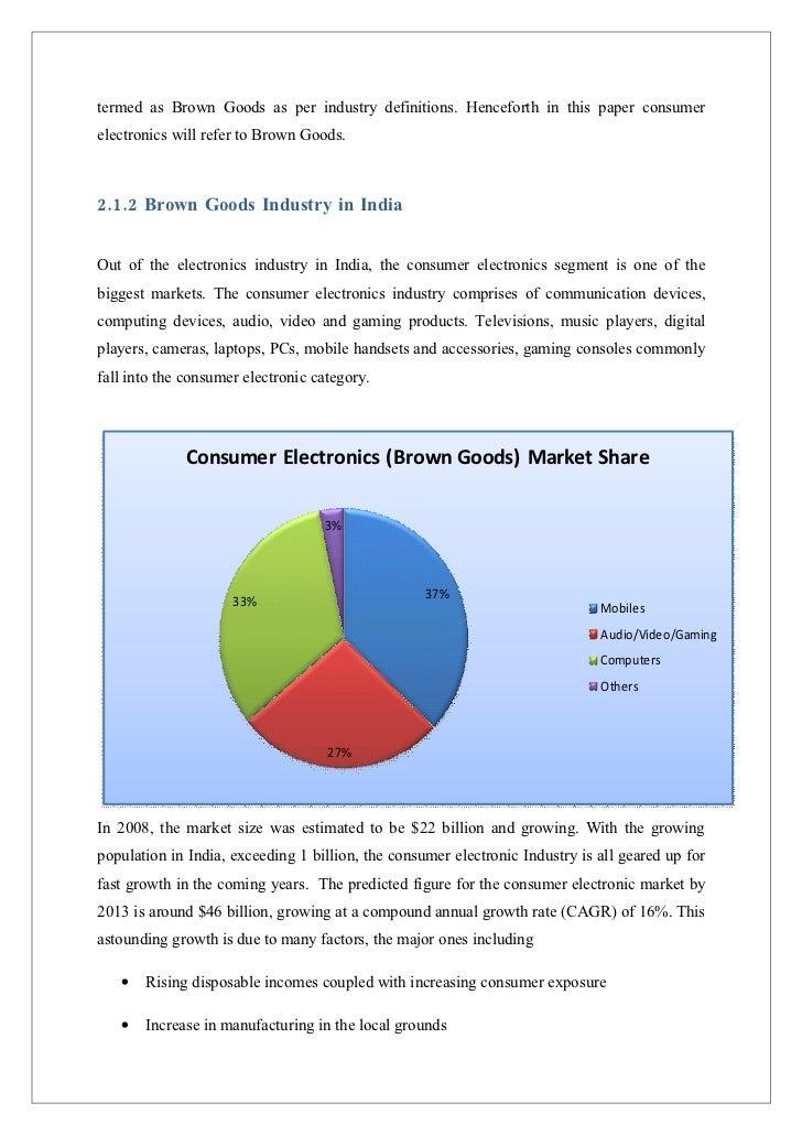 mobile handset industry in india essay
