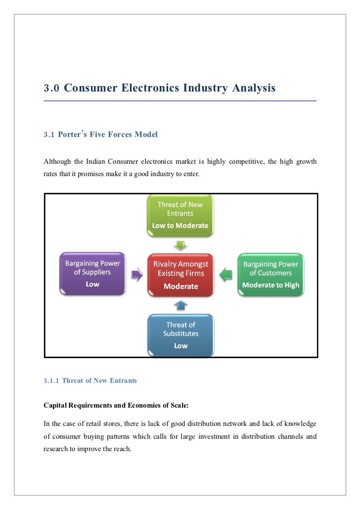 five forces analysis of best buy industery