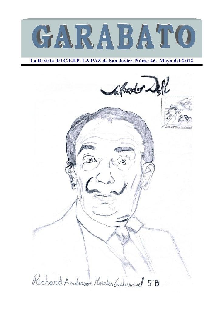 La Revista del C.E.I.P. LA PAZ de San Javier. Núm.: 46. Mayo del 2.012