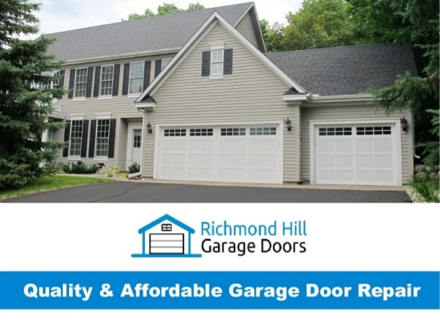 Garage Door Repair Richmond Garage Door Repair Richmond
