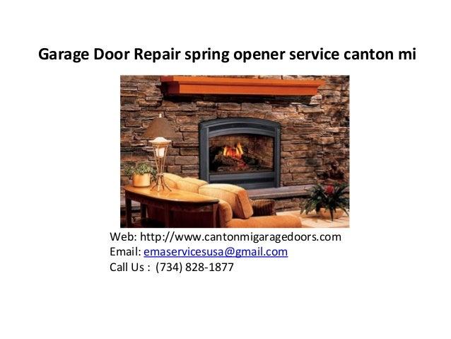 Garage Door Repair Canton Mi Spring Opener Service