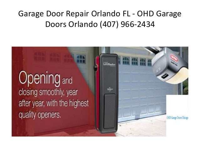Garage door repair orlando for Garage doors orlando fl