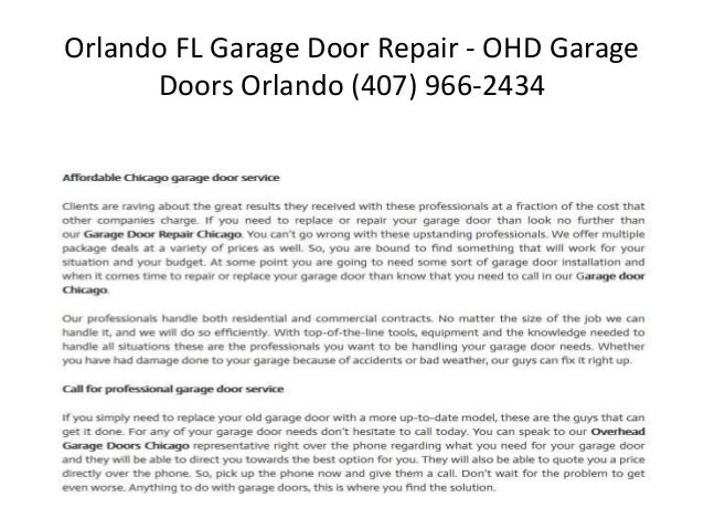 Overhead Door Orlando Home Page 3 Garage Doors In Florida Garage Doors Garage Door Repair