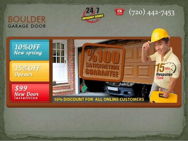 Boulder garage door repair for Garage door repair boulder co