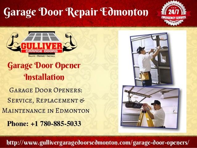 garage door repair opener installation tips gulliver garage doors
