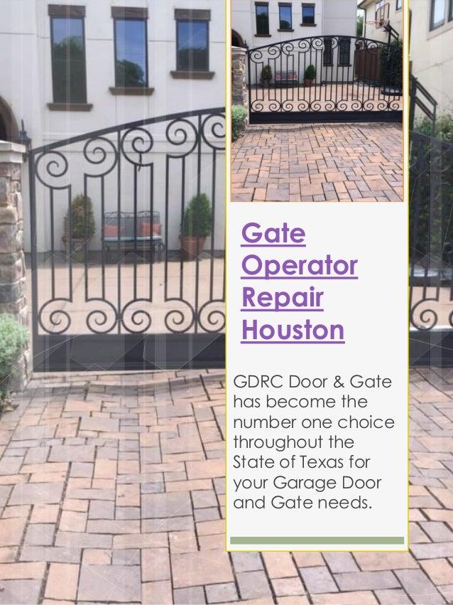 Gate repair houston