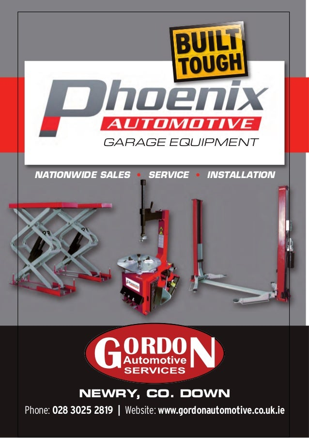 Garage equipment ni gordon automotive for Equipement complet garage auto
