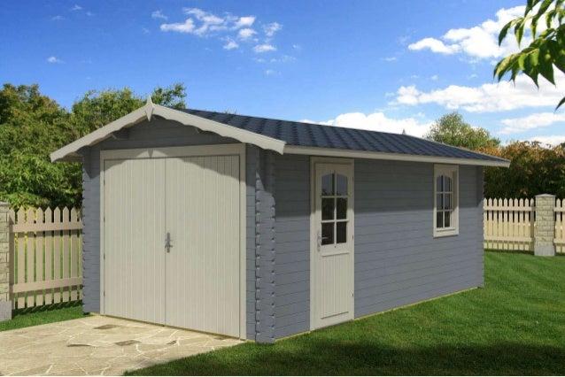 Garage in legno garage prefabbricato in legno box auto legno for Garage electricite auto 95