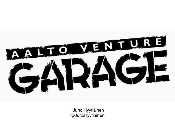 Garage presentation