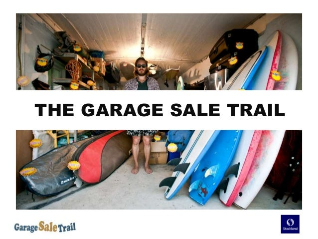 Garage Sale Overiew for Stockland Nov-5 Final