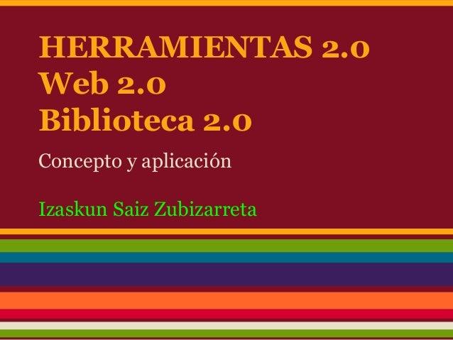 Garatu 2013 Presentación herramientas 2.0
