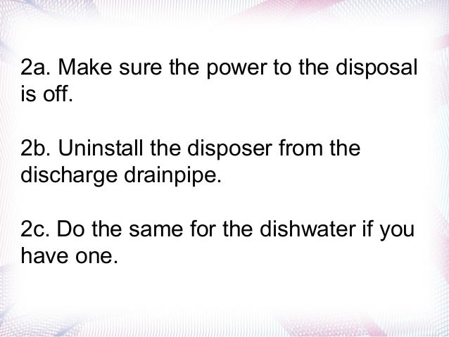 Garbage Disposal Leaking Easy Steps To Fix It