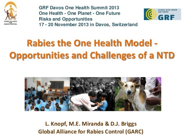 Rabies the One Health Model - Opportunities and Challenges of a Neglected Tropical Disease