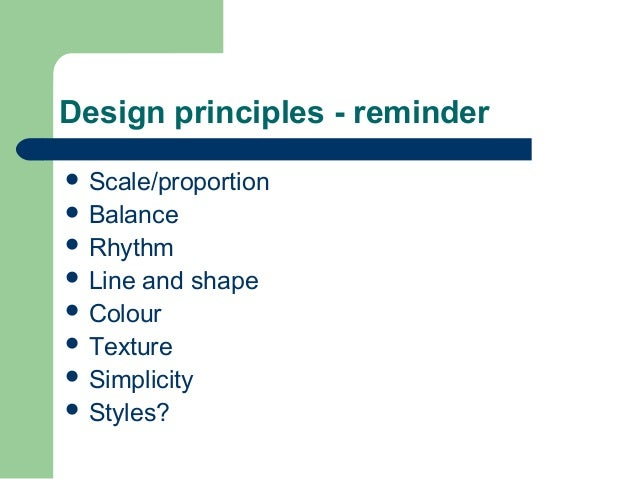 The gallery for principles of design rhythm for Garden design principles
