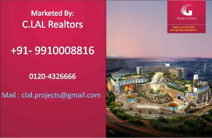 Marketed By:<br />C.LAL Realtors<br />+91- 9910008816<br />0120-4326666<br />A place you wouldn'tmind getting addicted to<...
