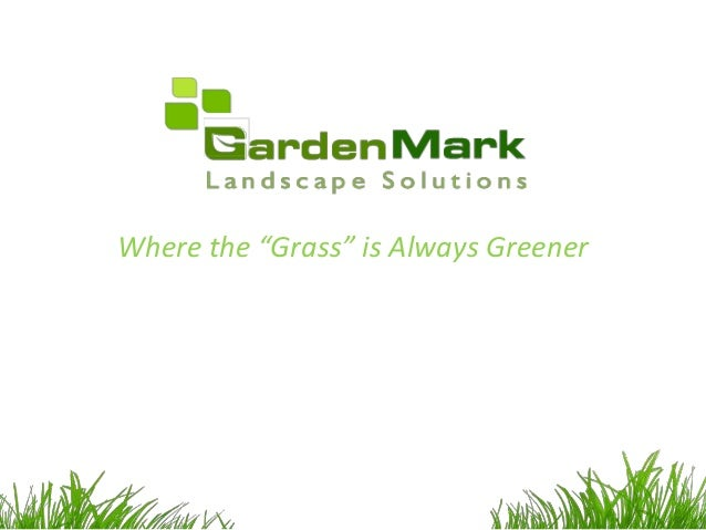 Garden mark artificial grass