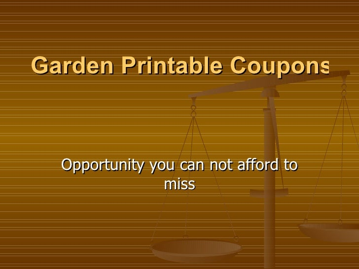 Garden Printable Coupons – Taking Advantage of Olive Garden Coupons Opportunity you can not afford to miss