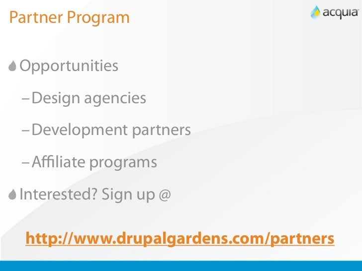 Drupal Gardens Preview Webinar