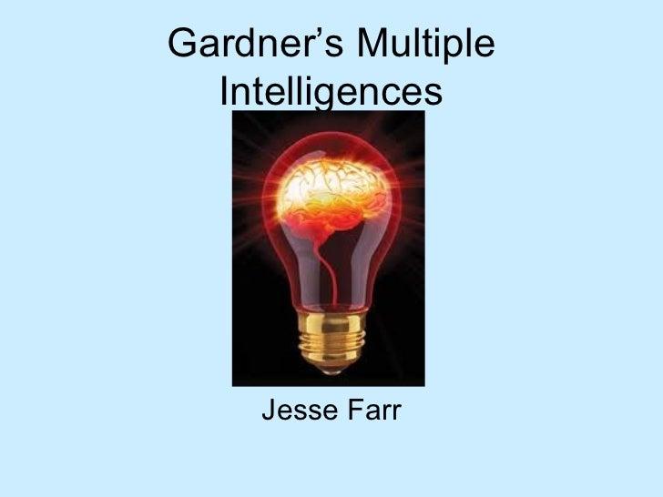!Gardner's multiple intelligences