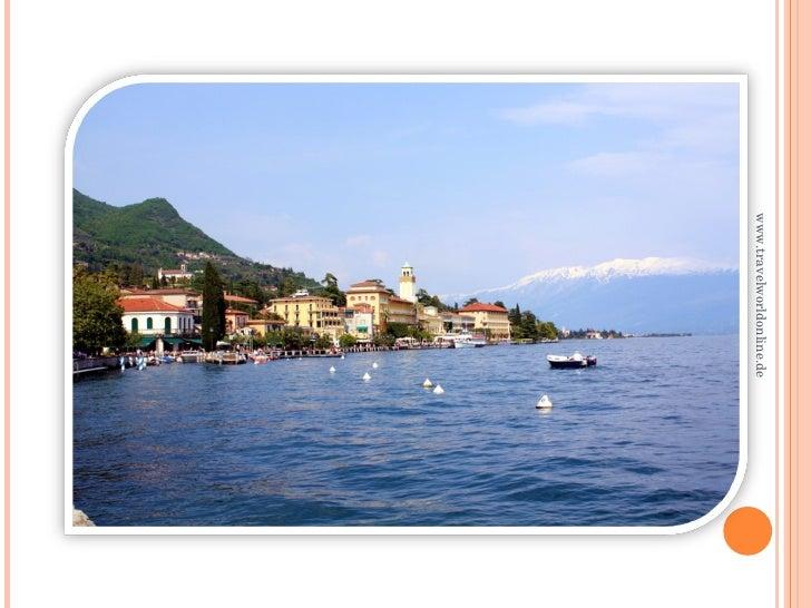 Gardone Riviera On Lake Garda, Italy