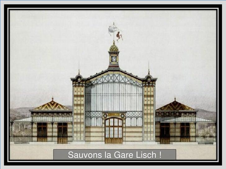 Sauver la Gare Lisch - un projet collaboratif