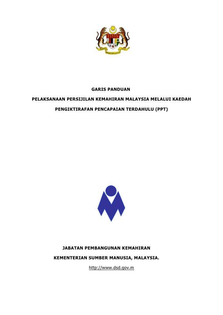 Garis Panduan PPT 2011
