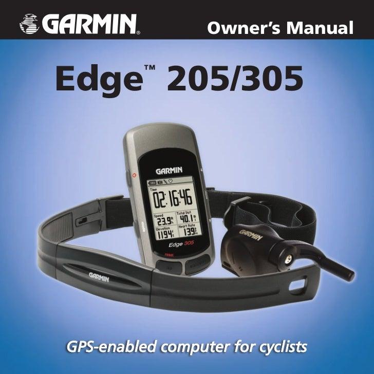 garmin edge 810 instruction manual