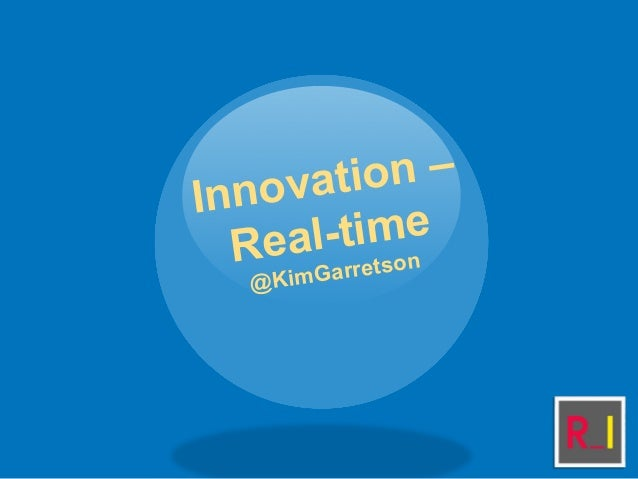 Kim Garretson: New innovations in real time, plus expanded engagement in mobile news and marketing