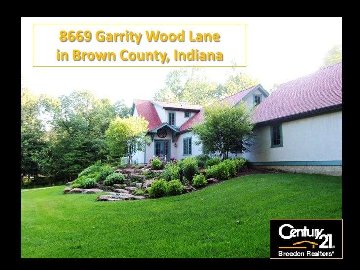 8669 Garrity Wood Lake in Brown County, Indiana