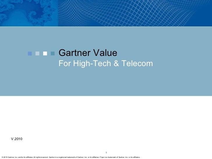 Gartner For High Tech Companies