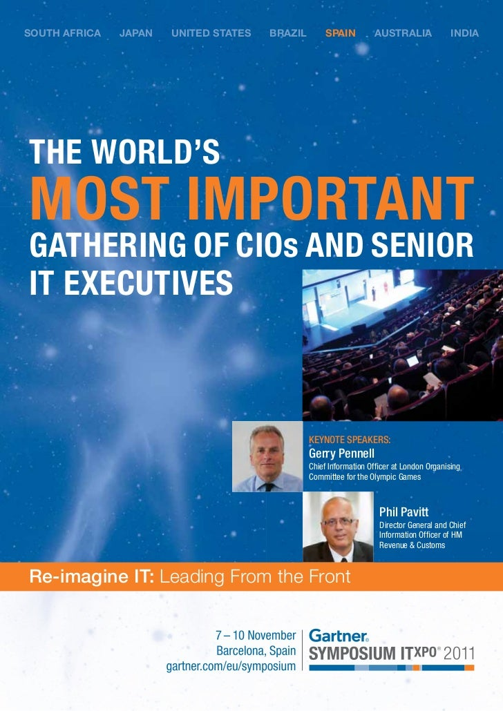 Gartner Symposium I Txpo 2011 Brochure