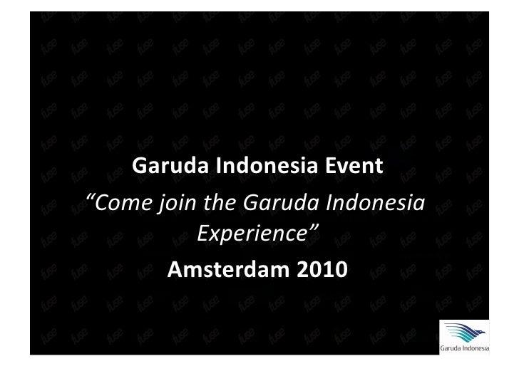 Garuda event 2010 v4