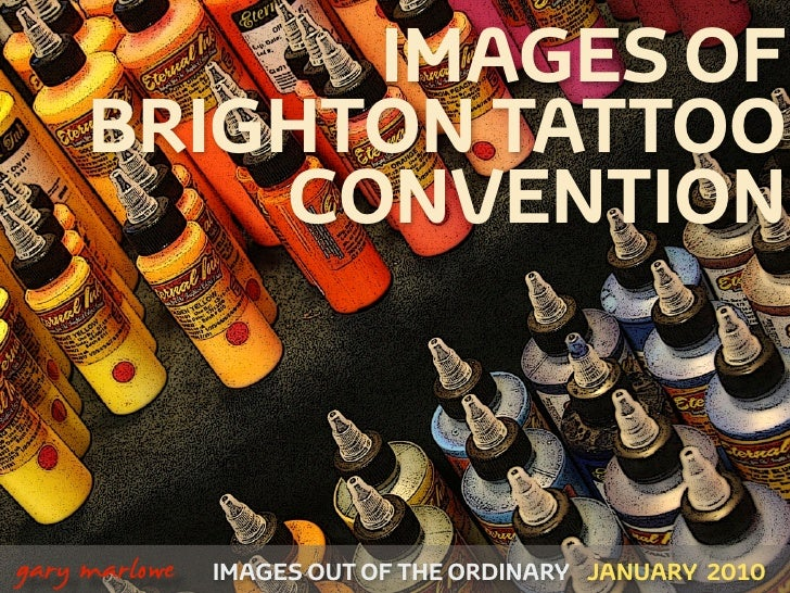 Images Of Brighton Tattoo Convention January 2010