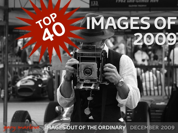 Top 40 Images Of 2009