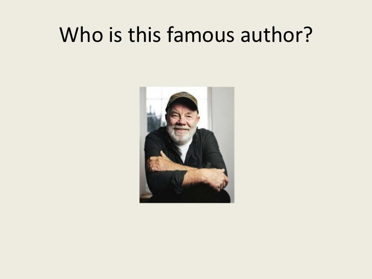 Who is this famous author?