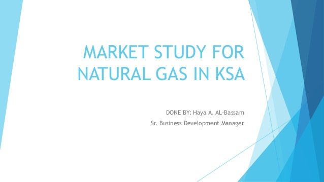Market study for Gas sector (Gas processing)