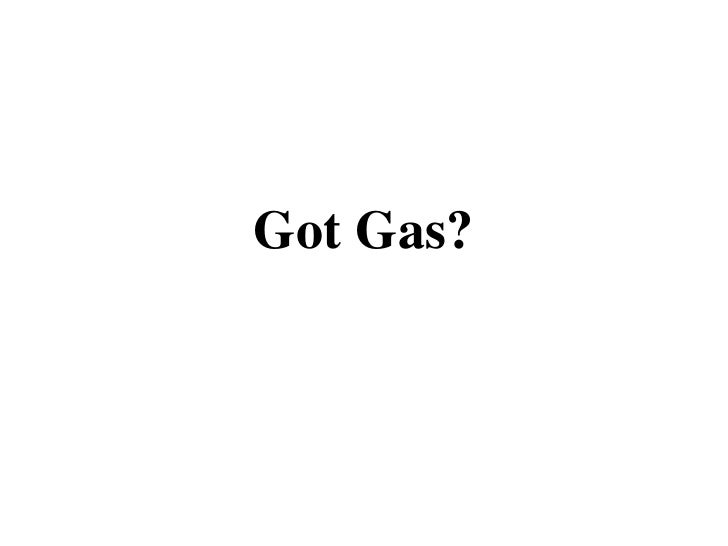 Gas Laws Modified