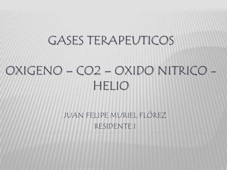 Gases terapeuticos