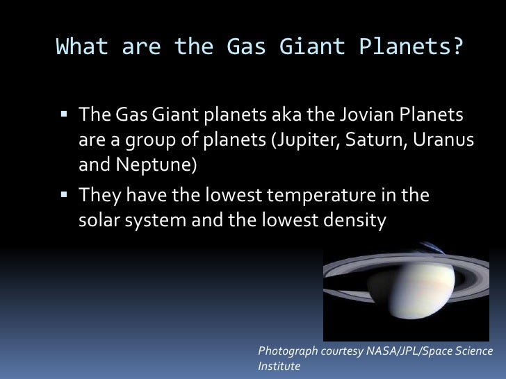 the name of the four gas giants - photo #22