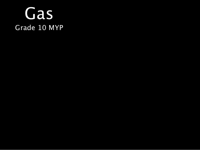 GasGrade 10 MYP