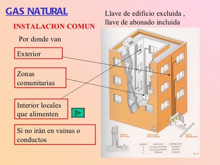 Instalaciones de gas natural - Instalacion calentador gas natural ...
